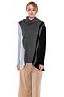 J CASHMERE Women's 100% Pure Cashmere Cocoon Dolman Sleeve Cowlneck Sweater