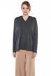 JENNIE LIU Women's 100% Pure Cashmere Dolman Hooded Tunic Pullover Sweater